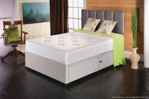 Regency King Size Orthopaedic Repose Divan Sets With 4 Large Drawers
